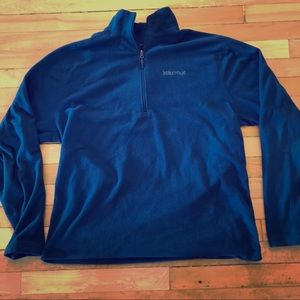 Marmot Men's Fleece 1/4 Zip Pullover XL Jacket